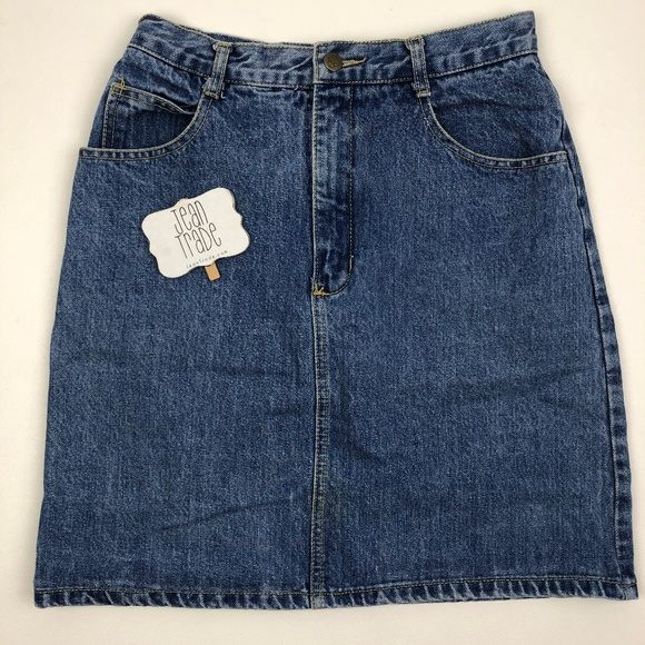 Guess Dresses & Skirts - VTG Guess Marciano Denim Jean Skirt